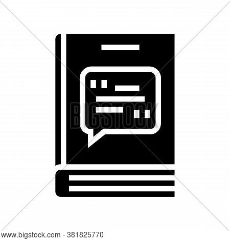 Poetry Genre Glyph Icon Vector. Poetry Genre Sign. Isolated Contour Symbol Black Illustration