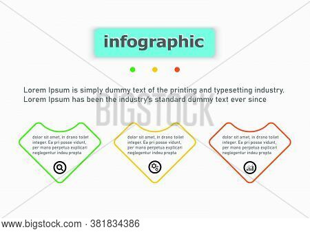 Line Vector Design Template Flow Chart Graphic. Planning Infographic Design Business Infographic Tem