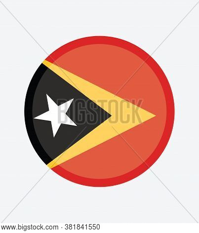 National Timor - Leste  Flag Official Colors And Proportion Correctly. National \ntimor - Leste Flag