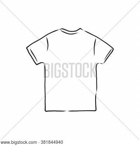 T-shirt Vector Illustration. T-shirt, Vector Sketch Illustration