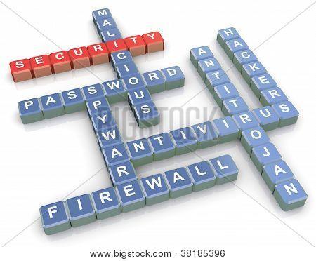 Crossword Of Security