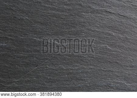 Black Granite Slab Background Or Backdrop Texture.