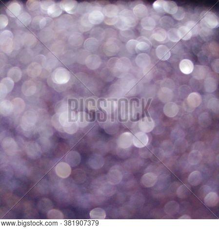Purple Violet Eye Shadow Sparkle Metallic Shimmer Glitter Cosmetic Make-up Macro Photo Blurred Backg