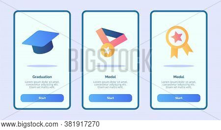 Notification Inbox Message Write Message Onboarding Screen For Mobile Apps Template Banner Page Ui W