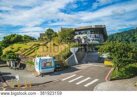 August 18, 2020: Maokong Gondola Station, The Terminal Station Of The Maokong Gondola Of The Taipei