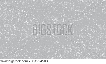 Heavy Snowfall, Falling Snow. Falling Snowflakes, Night Sky. Winter Holidays Storm Background. Adver