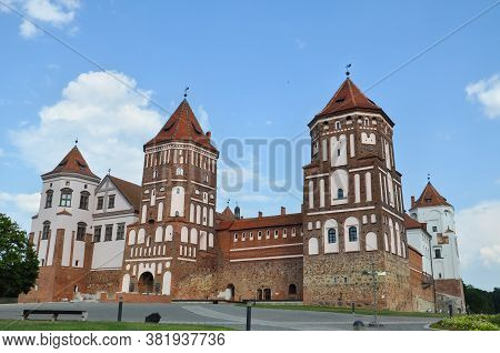 Mir Castle And Park Complex Is An Architectural Complex, Defensive Fortification And Residence. It I