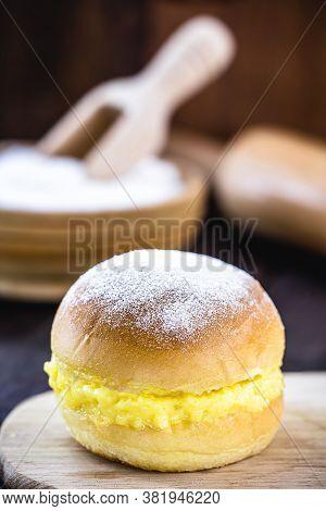 Bread With Cream And Sugar, Brazilian Donut Called