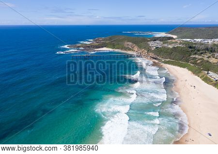 Catherine Hille Bay Aerial View Of The Historic Seaside Village Previous A Coal Mining Outpost Now A