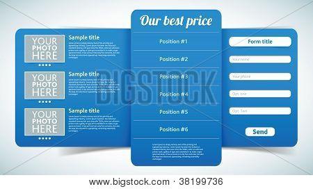elegant registration form vector easy to edit