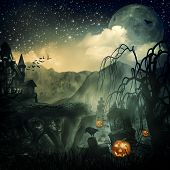 Scary Movie. Abstract halloween backgrounds for your design poster
