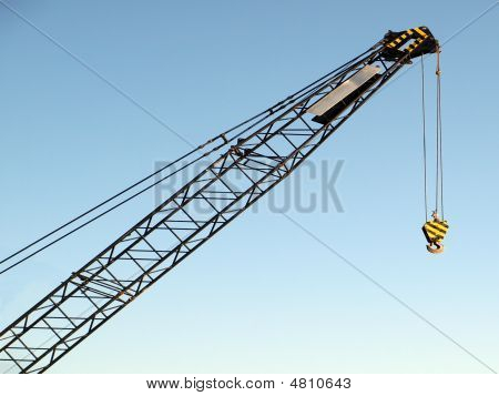 Hoist/crane With Clear, Blue Sky In Background