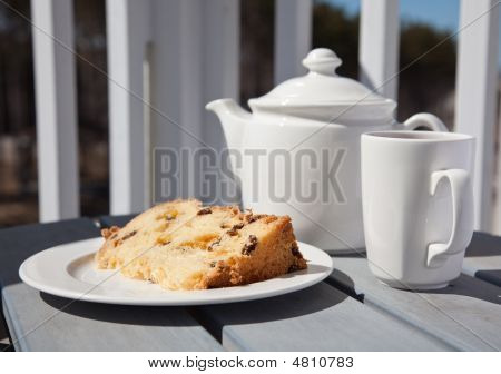Tea Time On The Balcony