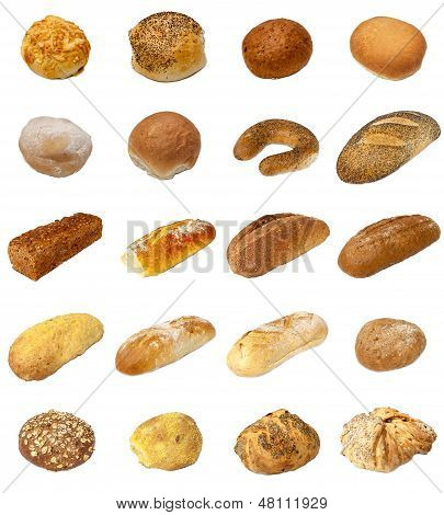 Bread And Bap Selection