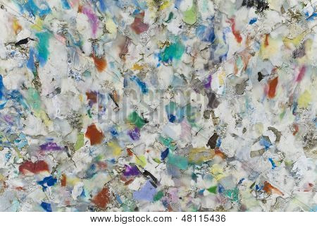 Weathered Recycling Plastic