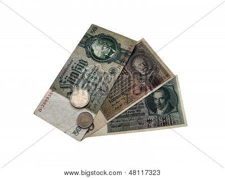 German money 1930s