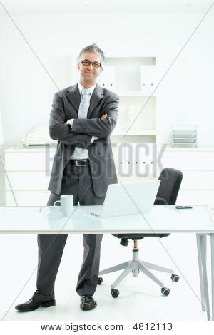 Satisfied Businessman