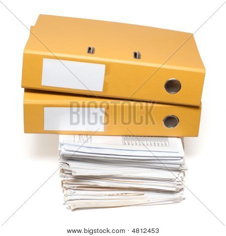 Two Binders And Documents