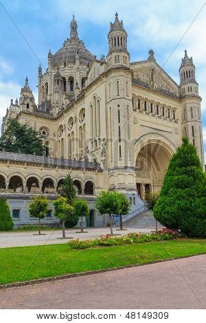 Lisieux, Basilica Of St. Therese, Normandy, France