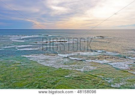 Early Morning On An Ocean Coast