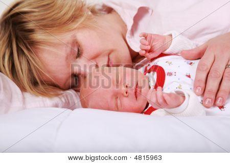 Lovely Newborn Sleeping