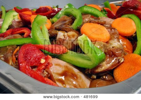 Chicken Stir Fry Mixture