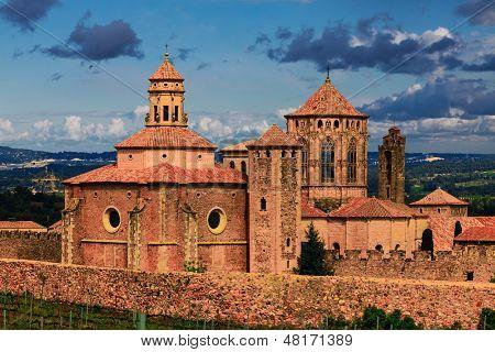 monastery Santa Maria de Poblet, Spain