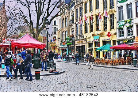Street of Brussels