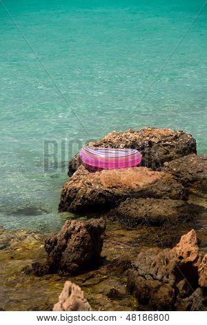 Life Buoy Near Sea