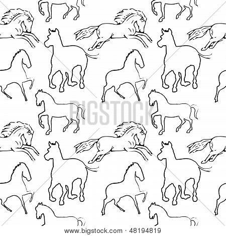 Horse Pattern