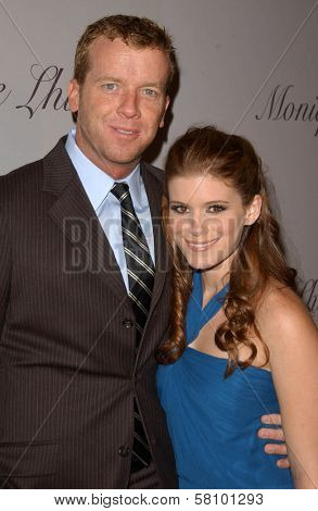McG and Kate Mara at the Grand Opening of Monique Lhuillier's New Boutique. Monique Lhuillier, Los Angeles, CA. 10-10-07