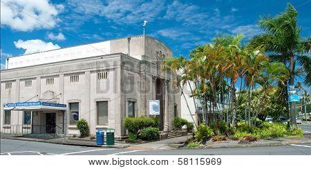 Pacific Tsunami Museum In Hilo Big Island Hawaii Panorama