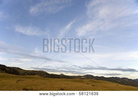 Autumn Cloudscape