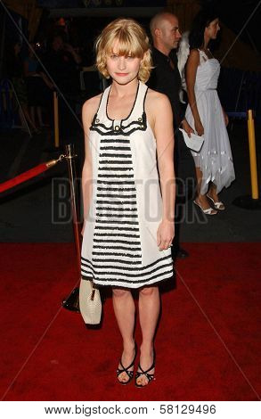 Emilie de Ravin at the Los Angeles Opening Cirque Du Soleil's