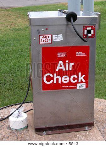 Auto Air Check Machine