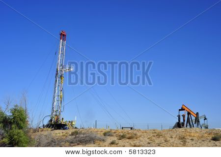 Oil Well Servicing Rig