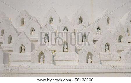 Mingun White Pagoda, Myanmar