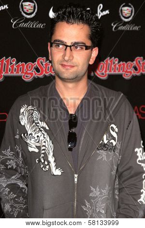Frankie Delgado at the ROLLING STONE and the Hard Rock Hotel Celebrity Poker Tournament. The Hard Rock Hotel and Casino, Las Vegas, NV. 09-08-07