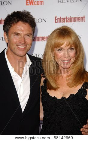 Tim Daly and Amy Van Nostrand  at Entertainment Weekly's 5th Annual Pre-Emmy Party. Opera and Crimson, Hollywood, CA. 09-15-07