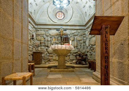 Inside Of A Baptistery Crypt