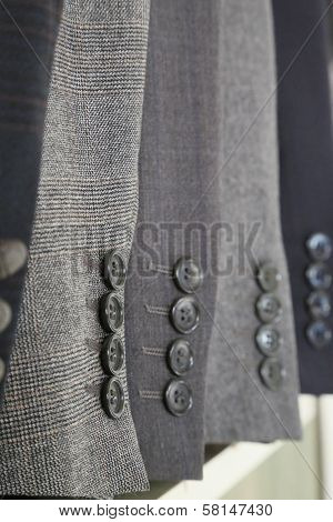 Jacket Sleeves With Buttons