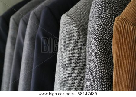 Businessman's Jackets In Different Colors