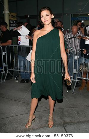 Maggie Grace at the premiere of