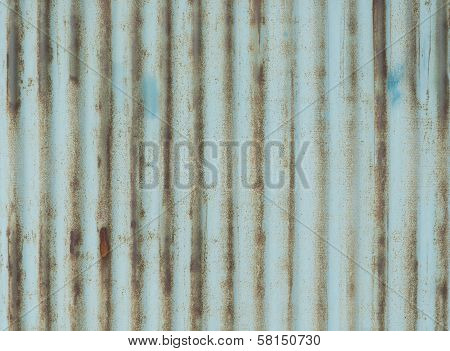Galvanized Iron Rusty And Outdated