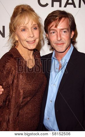 Stella Stevens and guest at the Chanel and P.S. Arts Party. Chanel Beverly Hills Boutique, Beverly Hills, CA. 09-20-07