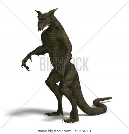 Creature dragon folk