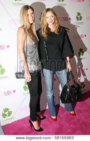 Nicky Hilton and Bijou Phillips  at the Intermix Boutique Opening. Intermix, Los Angeles, CA. 09-25-07