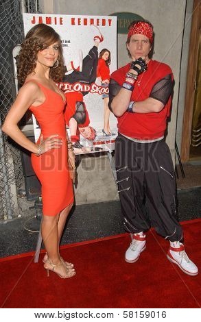 Maria Menounos and Jamie Kennedy at the Los Angeles Party for