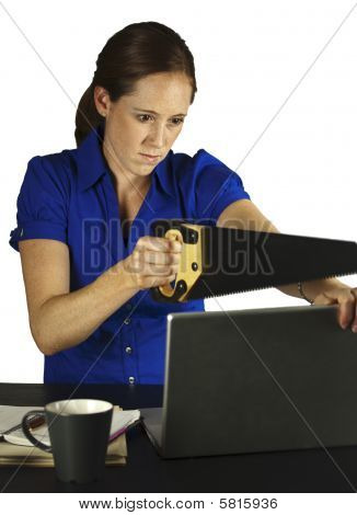 Frustrated Computer User