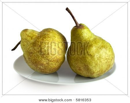 Two Autumn Pears